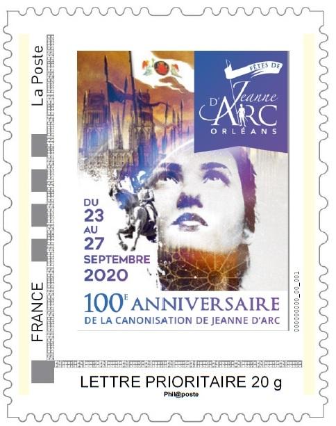 Timbre Jeanne d'Arc